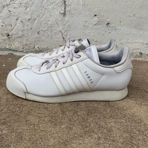 Adidas All White Samoa Women's Size 7.5